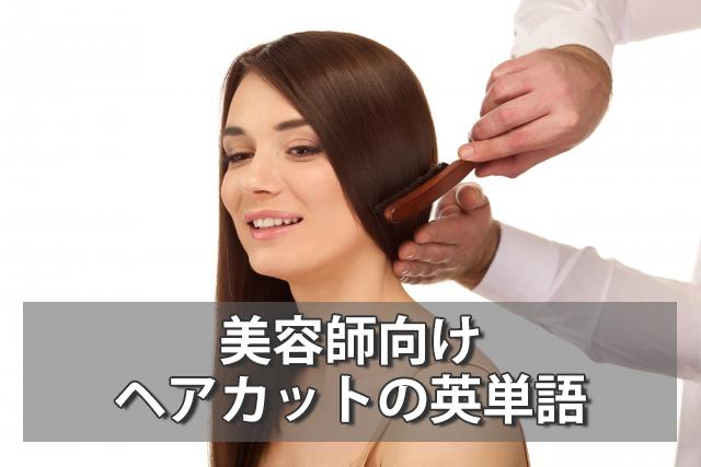 ブロッキング/セクションって?美容師向けヘアカットの英単語